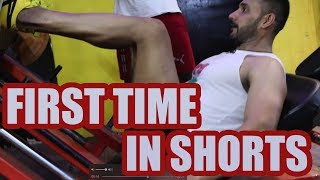 First time in shorts | Day 13 of 90 days transformation- Tarun Gill transformation