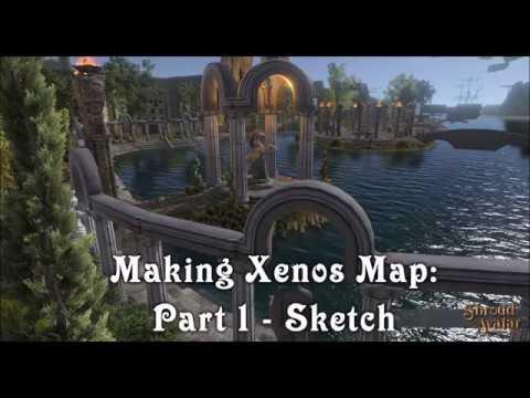 Making Xenos Map: Part 1 - Sketch