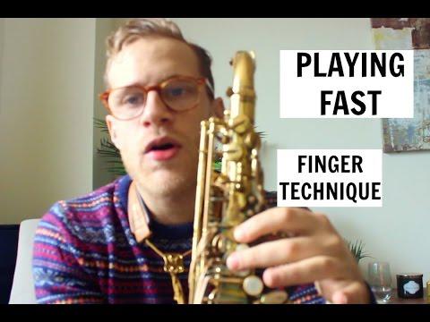 👍🎷  How To Play Saxophone Fast!   Finger Technique Tips   Todd Schefflin 🎷👍
