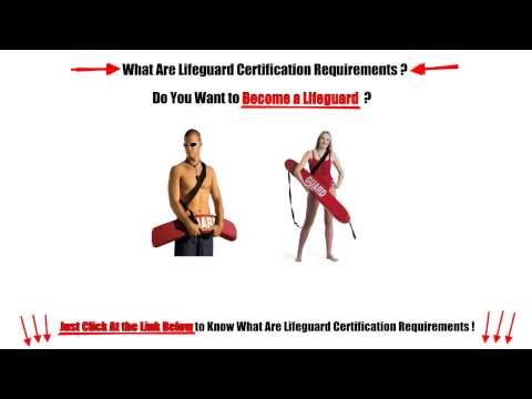 How to Get Lifeguard Certification ?