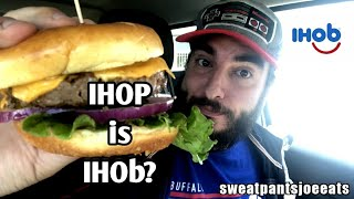 IHOP IS IHOb | IHOb CLASSIC BURGER REVIEW | IHOP NAME CHANGE | IHOP