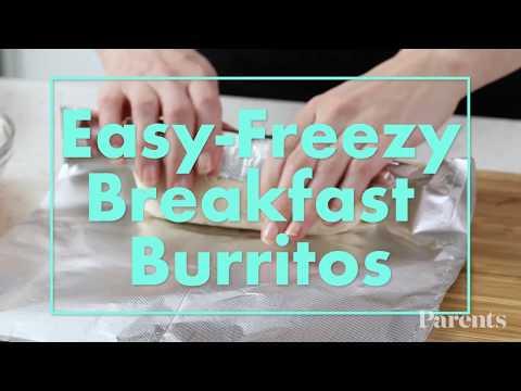 Easy-Freezy Breakfast Burritos | Parents
