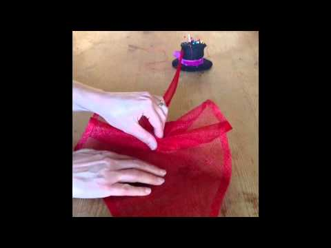 Sinamay Rouched Fascinator