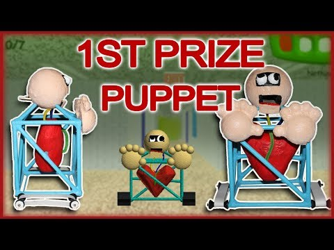 How to Make: 1st Prize Puppet (Baldi's Basics)