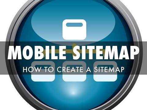 How to Create a Mobile Website Sitemap