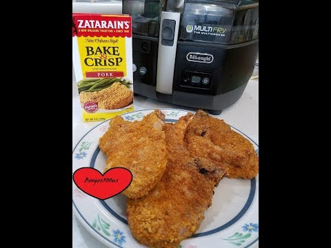 ZATARAIN'S FRIED PORK CHOPS AIR FRYER REVIEW