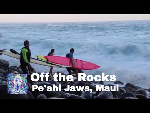 Pe'ahi, Jaws Maui - Off the Rocks - Jan. 10th 2016