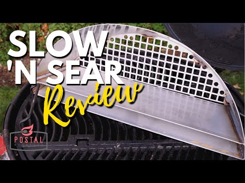 Slow N Sear Plus Review - Charcoal Basket BBQ Accessories for the Grill