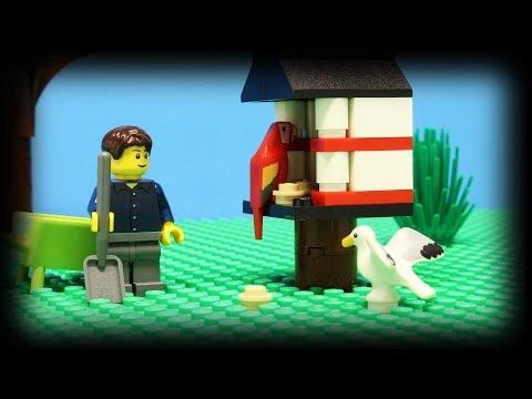 Lego Bird Feeder