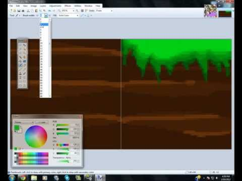 Building a 32 by 32 Texture Pack 1 - Grass