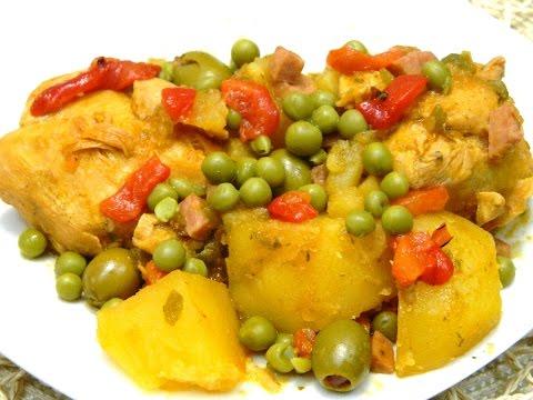 Fricase de Pollo or Chicken Fricassee Boricua Style