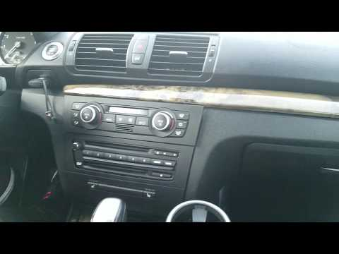 How to Remove Radio / Navigation / CCC unit from 2008 BMW 128i for Repair.