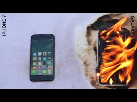 iPhone 7 vs. Galaxy Note 7 speed test!