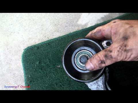Chrysler Sebring, detail on Serpentine Belt Adjuster