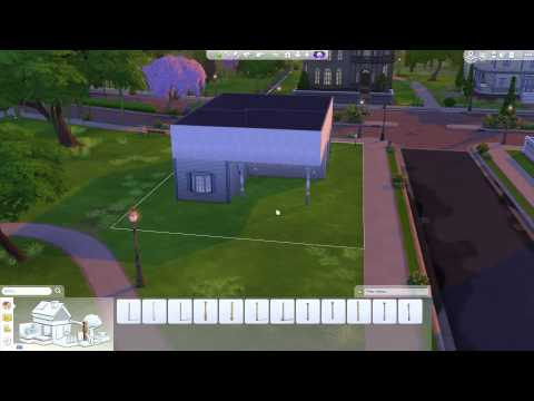 The Sims 4: Building a Home - Exterior & Balcony