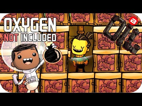 Oxygen Not Included OIL UPGRADE: NAPHTHA FUN!!!  SEASON 02 EP 20 ONI