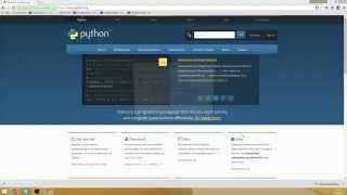 Beginning In Python Installing Python 343 On Windows 81