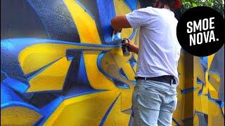 Here is why I missed Graffiti Festivals so much! SMOE ft. @Bakeroner