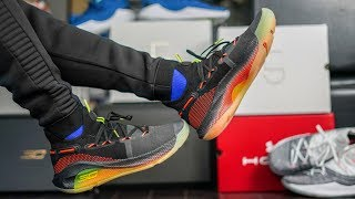 pretty nice 8bc0f 24f0b UNDER ARMOUR S GREATEST BALL SHOE YET   UA CURRY 6 FOX THEATER ON FEET  REVIEW