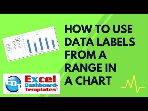 How to Use Data Labels from a Range in an Excel Chart