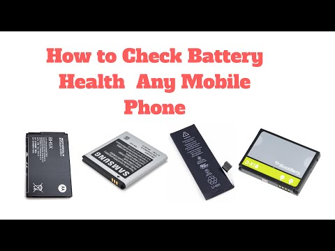 How to check battery health on any mobile phone (Day - 5)