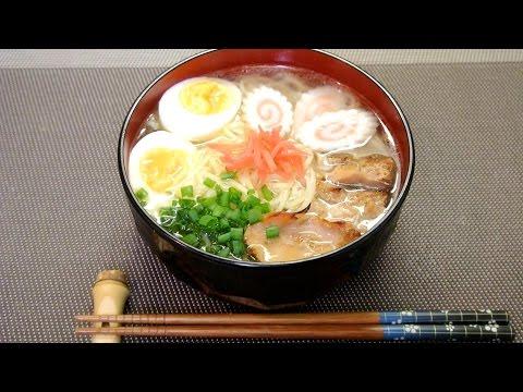 How to make Light Ramen Noodle 塩ラーメンっぽいレシピ