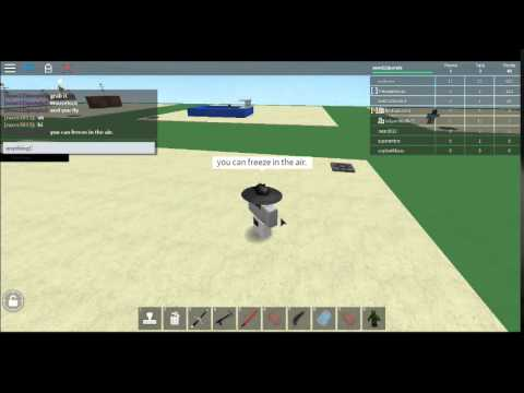 Roblox New Fly Glitch! May 2015! (Build A Hideout And Swordfight)
