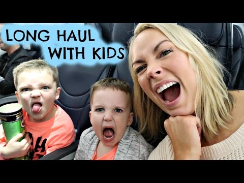 LONG HAUL FLIGHT WITH 3 KIDS