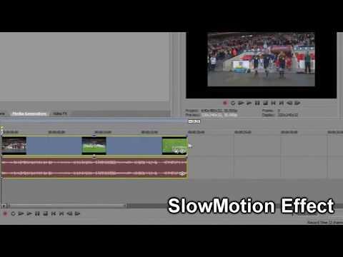 Sony Vegas Pro - Cara Mempercepat dan Memperlambat Video