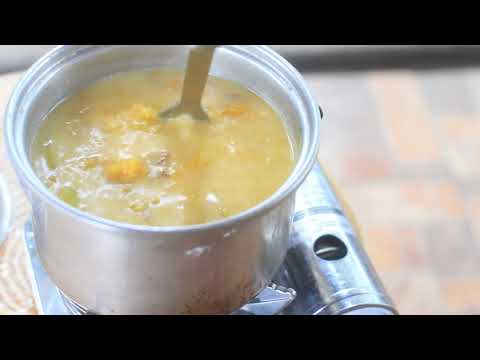 Dinoldog Recipe (Filipino Squash Soup With Dried Fish) | Pinoy Recipe
