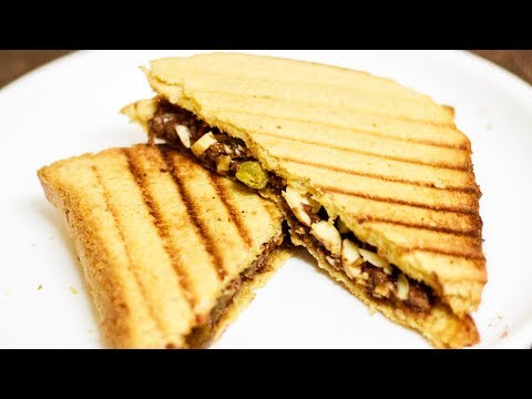 Kids Tiffin Special | Chocolate Sandwich Recipe