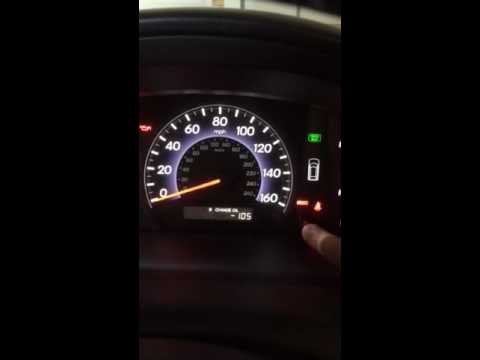 How to reset oil change light on 2005 - 2010 Honda Odyssey and Accord
