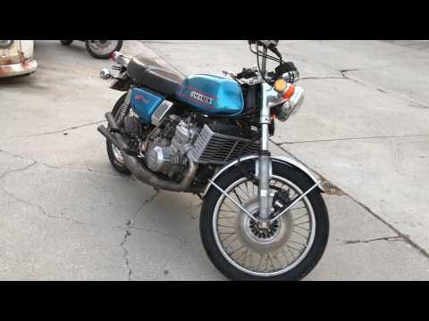 1974 GT750 Motorcycle Parts No Title For Sale