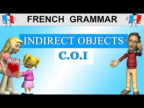 FRENCH GRAMMAR - INDIRECT OBJECT PRONOUNS