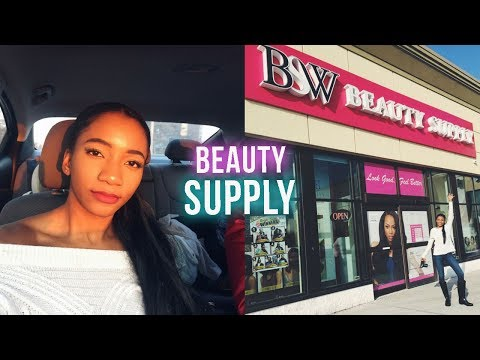 Come Beauty Supply Store Shopping With Me! | Annesha Adams