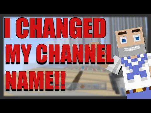 ITS STILL ME MINECRAFT BUILDER 92!! - Channel Name Change