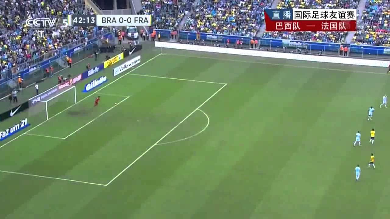 2013/06/10 Friendly 巴西 Brazil VS 法國 France 全場比賽 Full Match CCTV5