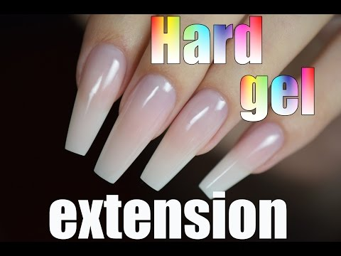 HARD GEL NAIL EXTENSION ! HOW I DO MY NAILS | Red Iguana | April Ryan
