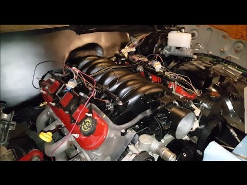 Veltboy Garage - LS Swap, Intake, Injectors, Fuel Rails, Throttle Body Cleaning & Install