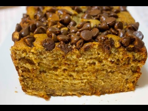 Chocolate Peanut Butter Banana Bread - Cooked by Julie - Episode 123