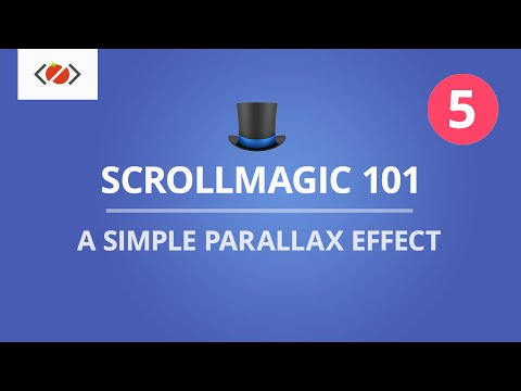 ScrollMagic 101 - A Simple Parallax Effect