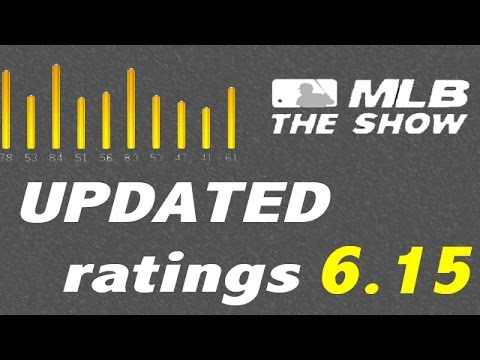 MLB 15 The Show - Before + After Roster Update (6.15)