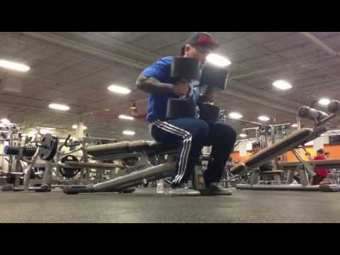 Simple Chest Workout / Bench & Dumbbell Presses