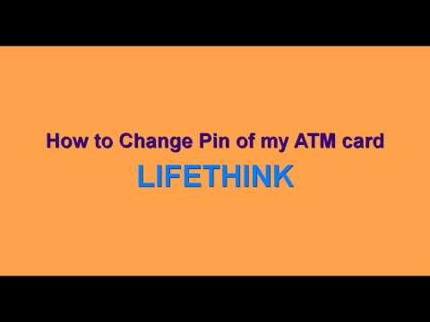 How To Change ATM Pin Online Without going to ATM branch through Internet Banking