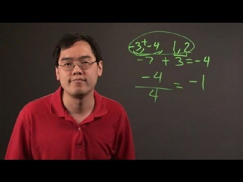 How Do I Calculate Averages of Positive & Negative Numbers? : Negative Numbers & Other Math Tips