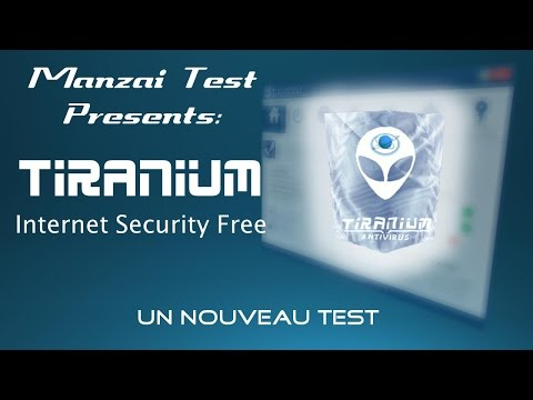 [Test Musical] Tiranium Internet Security Free ( Version B.6.568 )
