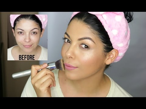 GET READY WITH ME: HEALTHY SKIN FOUNDATION | MOMMY STYLE | SCCASTANEDA