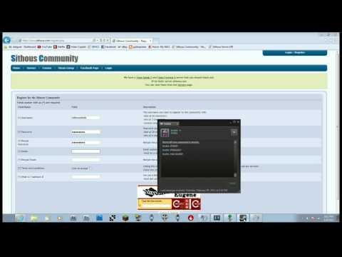 How to Register for Terraria server.sithous.com
