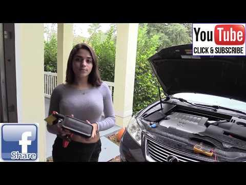 DURACELL BATTERY CAR JUMP STARTER GUIDE