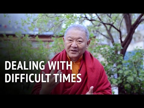 Ringu Tulku – Dealing with Difficult Times